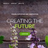 Cedarome Website visual VISION EXPERTISE INNOVATION_newspng_En_2