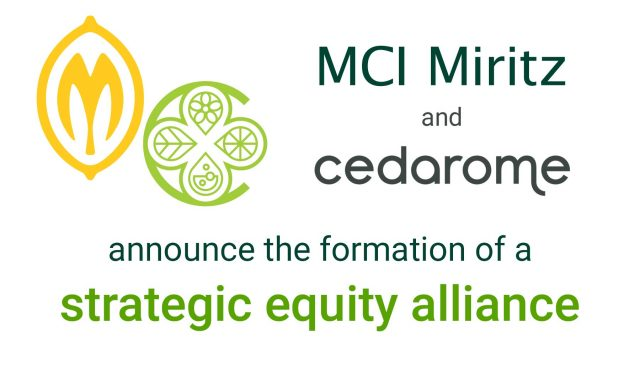 MCI and Cedarome announce the formation of a strategic equity alliance